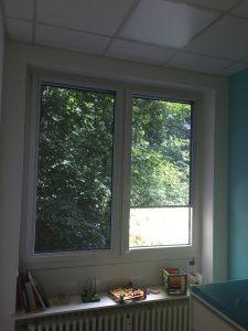Multirollo® - Arztpraxis - Sonnenschutz - Folienrollo