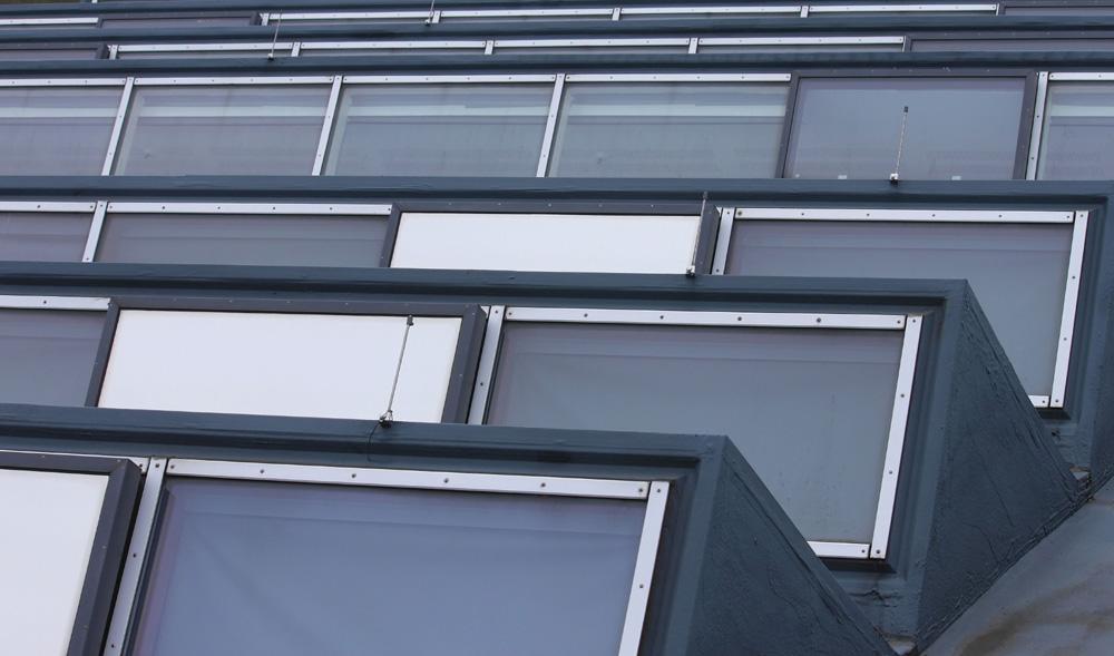 glasdach pfosten riegel fassade b ro sonnenschutz mit blendschutz 97. Black Bedroom Furniture Sets. Home Design Ideas