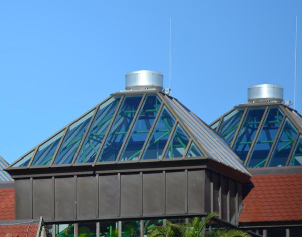 Dachglassonnenschutz