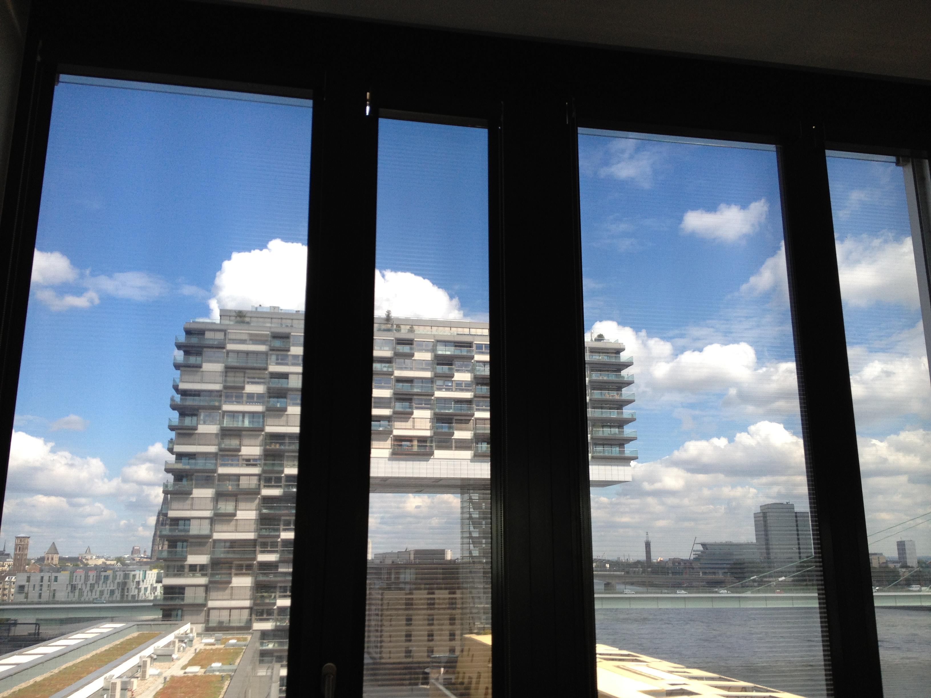 Köln - Kranhäuser - Folienrollo - Sonnenschutz - Blendschutz